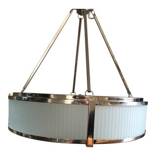 Sonneman Roxy 4-Light Drum Chandelier For Sale