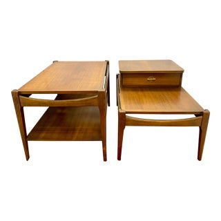 Mid Century Nightstands End Tables - A Pair For Sale
