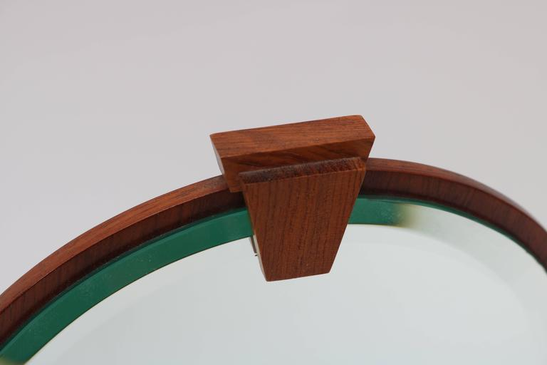 American Artisan Adjustable Table Mirror In Mahogany, Walnut U0026 Brass    Image 5 ...