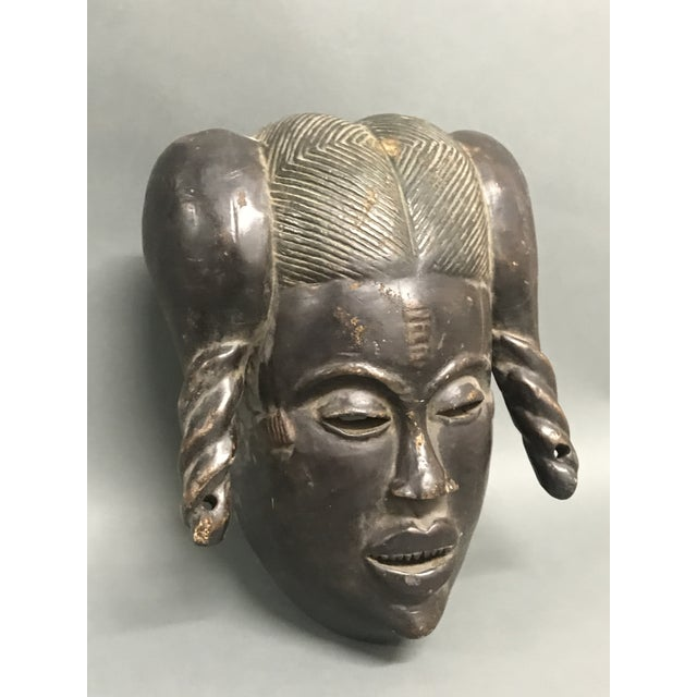 2000 - 2009 African Tribal Art Ibibio Mask For Sale - Image 5 of 6