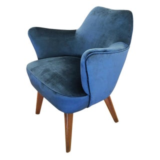 Gio Ponti for Cassina Armchair With Expertise From the Archives For Sale