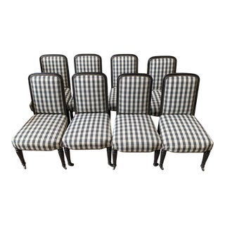 Louis Philippe Dining Chairs - Set of 8 For Sale