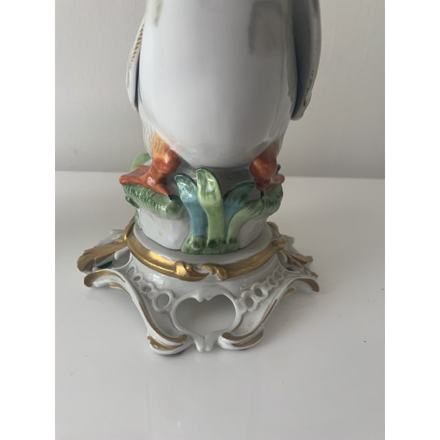 Figurative Mid 20th Century Sevres Porcelain Swans - a Pair For Sale - Image 3 of 12
