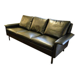 1960s Leather Sofa by Arne Vodder for Fritz Hansen For Sale
