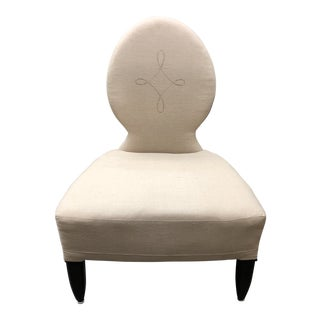 Barbara Barry Henredon Opera Slipper Chair For Sale