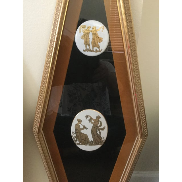 1960s Mid Century Grecian Shadowbox by Andrew Kolb and Son Ltd - a Pair For Sale - Image 5 of 13