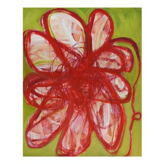 "Brenda Zappitell ""Flower Ii"", Painting For Sale"