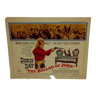 Vintage Doris Day Movie Poster For Sale