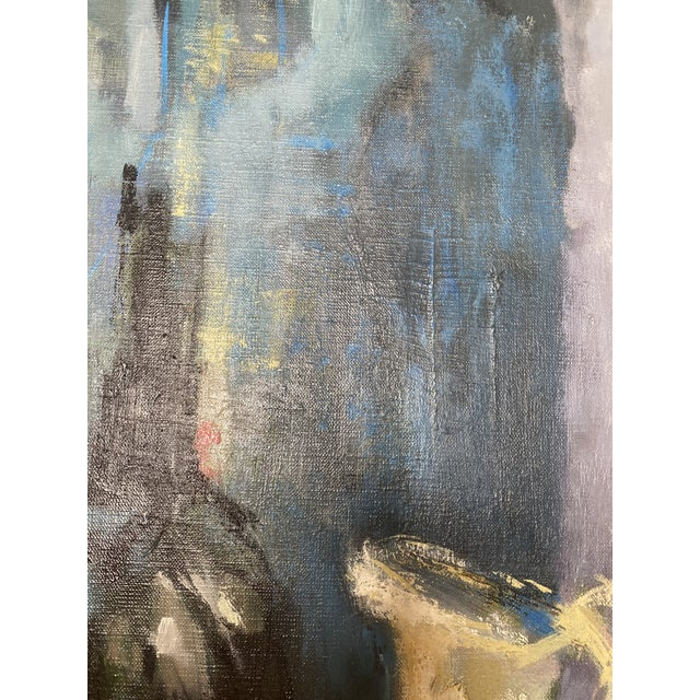 Mid 20th Century Abstract Original Oil Still Life Painting, Framed For Sale In Washington DC - Image 6 of 13