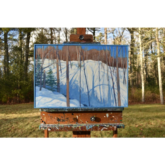 """Stephen Remick """"Sunny Ridgeline"""" Contemporary Painting For Sale - Image 9 of 12"""