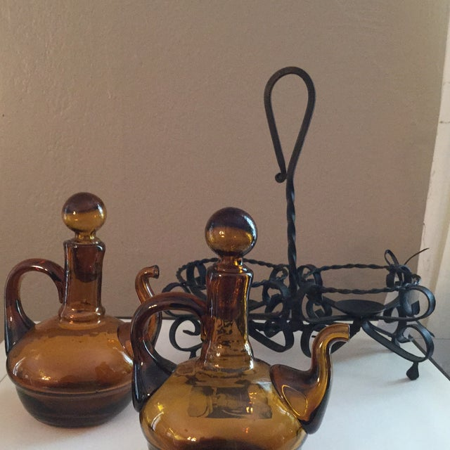 Italian Oil and Vinegar Set - Image 3 of 5