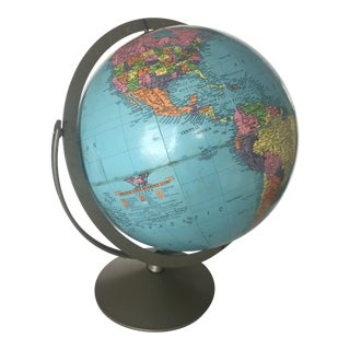 1980s Replogle Reference Globe For Sale