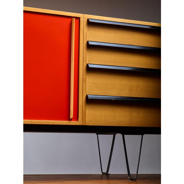Alfred Altherr sideboard, Switzerland, 1950s For Sale - Image 6 of 6