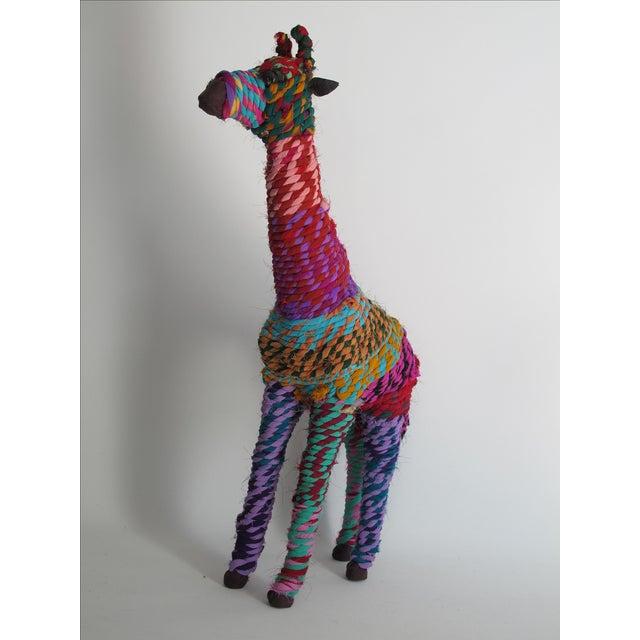 Boho Indian Chindi Giraffe - Image 6 of 7