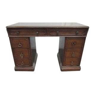 Traditonal Mahogany Secretary Desk For Sale