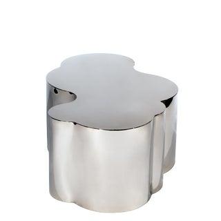 Modern Silver Luca Coffee Table