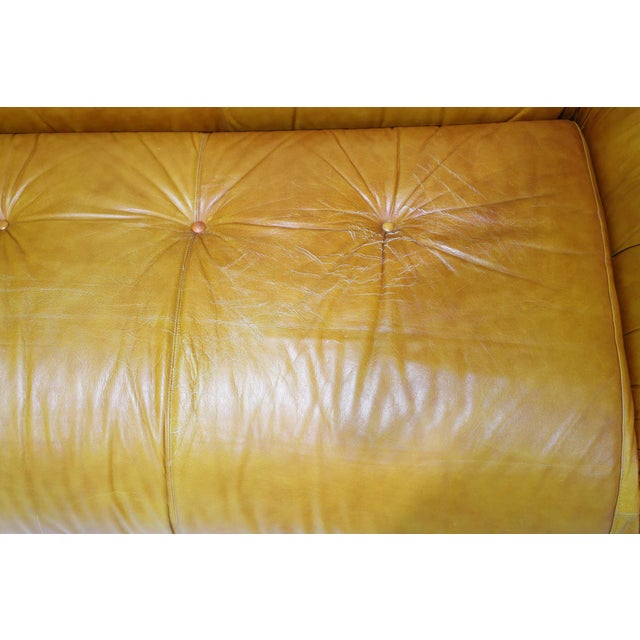 Leather Anfibio Sofa Bed by Alessandro Becchi for Giovannetti Collezioni, 1970s For Sale - Image 12 of 13