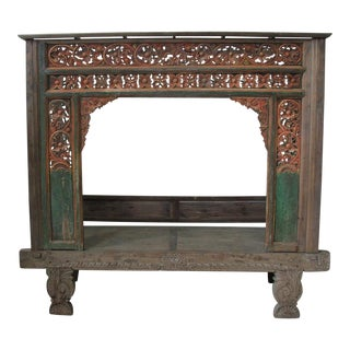 Antique Indonesian Wedding Bed For Sale