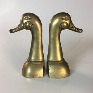 Brass Mallard Bookends - A Pair Preview