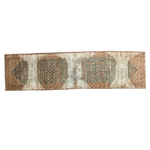 """Antique Malayer Rug Runner - 3'6"""" x 13'3"""" - Image 1 of 10"""