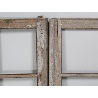 Pair of Antique French Doors Original Paint Preview