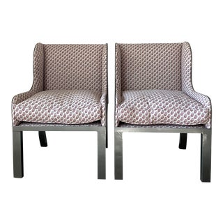 Casamidy Ixelles Wingback Chairs - a Pair For Sale