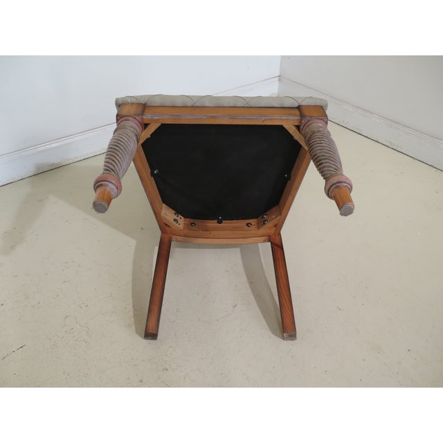 1990s Vintage Italian Style Paint Decorated Desk & Matching Chair For Sale - Image 12 of 13