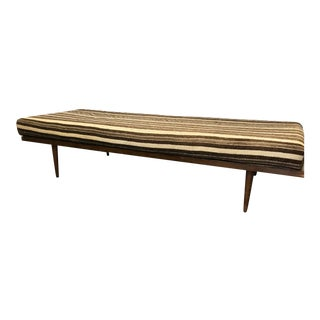 Vintage Mid Century Wood Day Bed For Sale