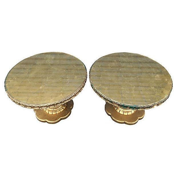 Florentine Style Gilt Twist Tables - A Pair - Image 5 of 7