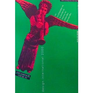 2000 Original Design International Poster, Angel - Alfred Halasa For Sale