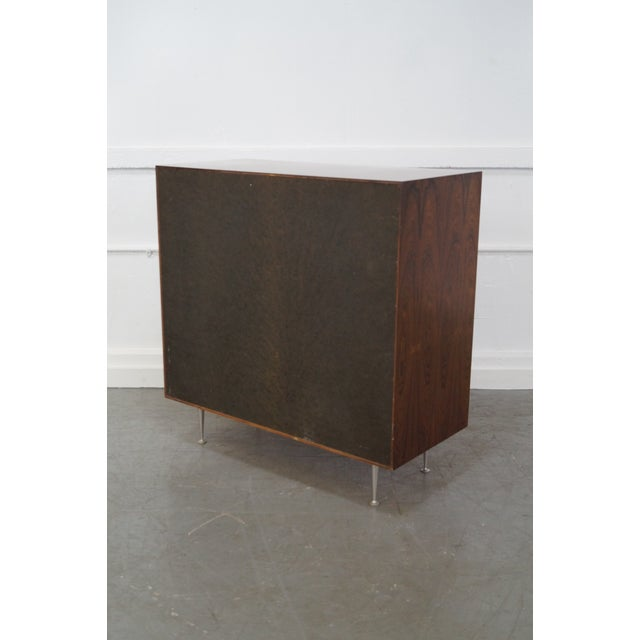 Herman Miller George Nelson for Herman Miller Thin Edge Rosewood Chest For Sale - Image 4 of 10