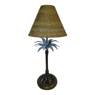 Maitland-Smith Palm Tree Table Lamp