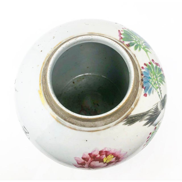 Early 19th Century Antique Mud-Stomped Chinoiserie Ginger Jar For Sale In Atlanta - Image 6 of 8