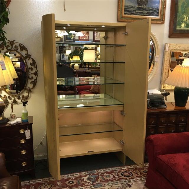 Custom Art Deco Gold & Ivory Bar or Display - Image 5 of 10