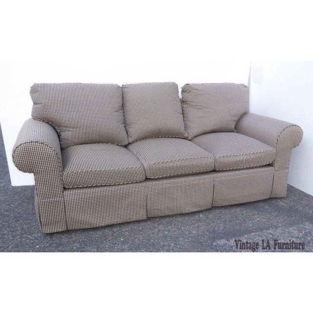 Glabman Furniture Plaid 3 Seater Sofa - Image 6 of 11