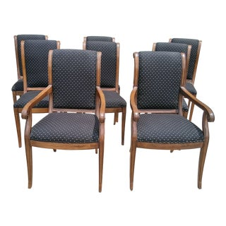 Henredon Charles X Collection Dining Chairs- Set of 8 For Sale