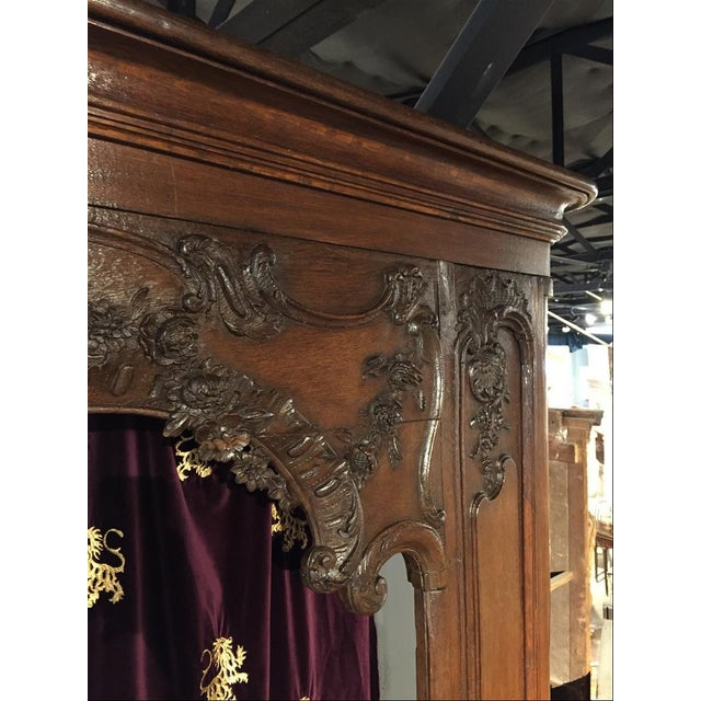 Antique French Boiserie Door Surround from the 1700s For Sale In Dallas - Image 6 of 11