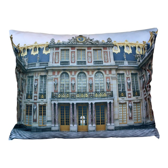 Versailles Rear Courtyard Photo Pillow For Sale