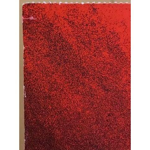 Otto Piene Otto Piene - 1970s Abstract Serigraph For Sale - Image 4 of 6