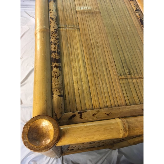 Asian 1960s Chinoiserie Bamboo Dresser For Sale - Image 3 of 10