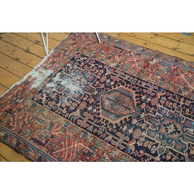 """Textile Vintage Karaja Rug - 4'7"""" x 6' For Sale - Image 7 of 10"""