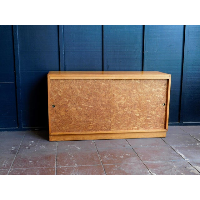 Mid Century Wooden Cabinet For Sale - Image 9 of 9