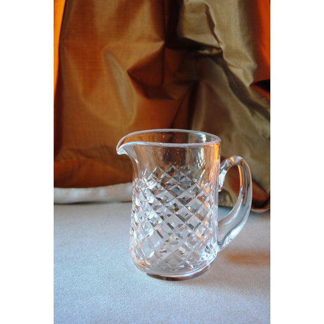 Waterford Vintage Alana Waterford Signed Crystal Jug Pitcher For Sale - Image 4 of 5