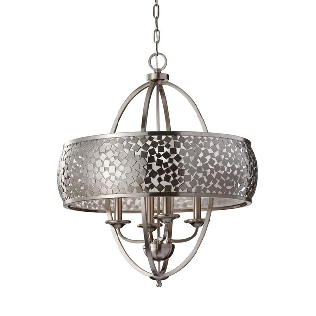 Murray Feiss Chandelier For Sale - Image 4 of 4