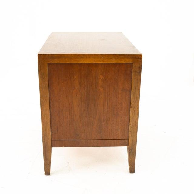 Drexel Mid Century Walnut Nightstand For Sale - Image 12 of 13