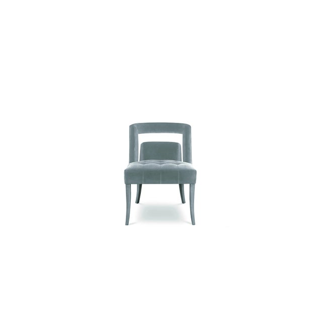 Modern Naj Dining Chair Covet Paris For Sale - Image 3 of 3