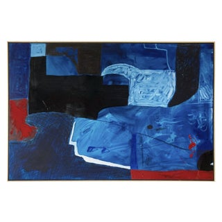 Large Contemporary Abstract Painting IX by William McLure