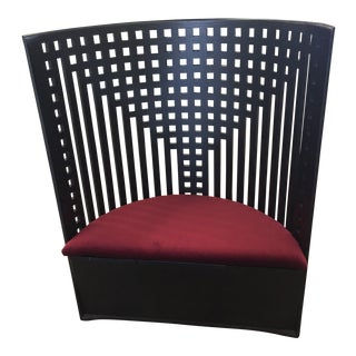 Charles Rennie Mackintosh Willow Chair For Sale