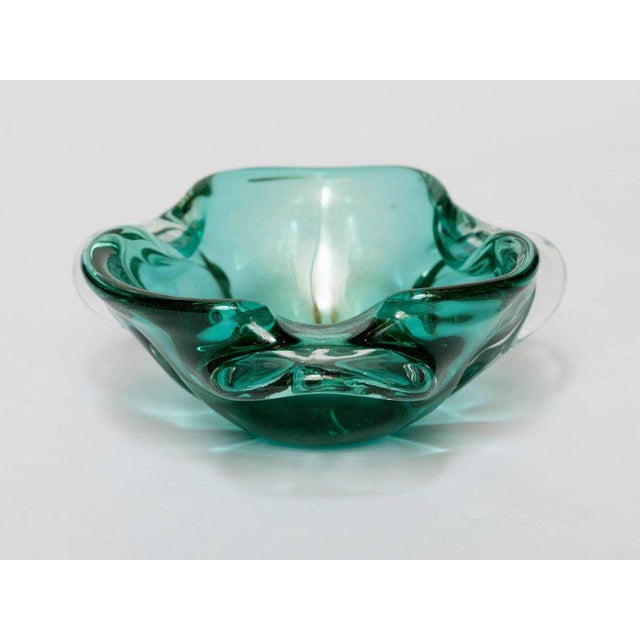 1950s Seguso Mid-Century Organic Modern Murano Bowl For Sale - Image 5 of 9