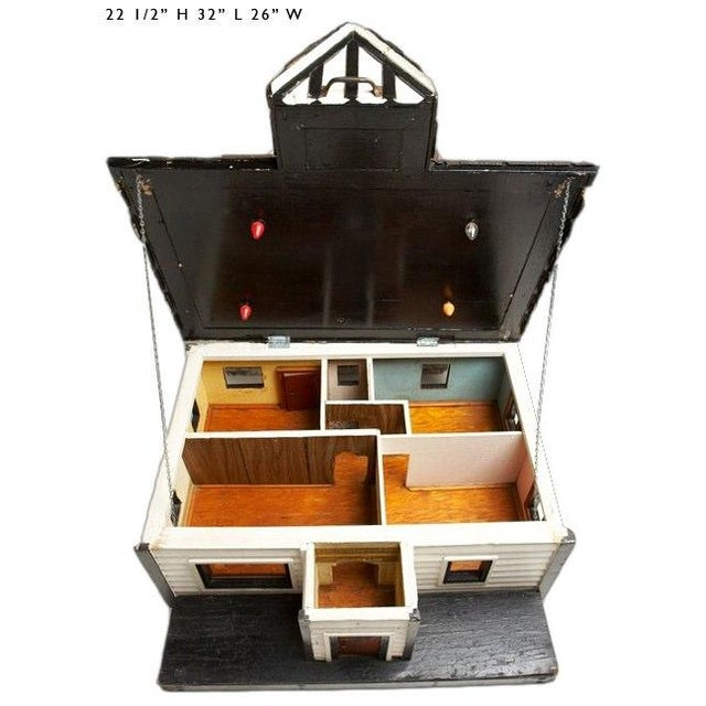 Vintage Craftsman Doll House - Image 3 of 5